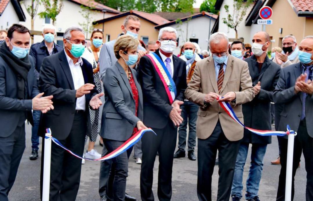 Inauguration du « Clos Galland » - Loyettes (83)