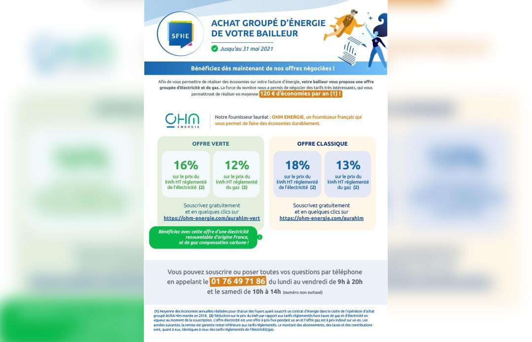 Améliorer le quotidien : achat groupé d'énergie