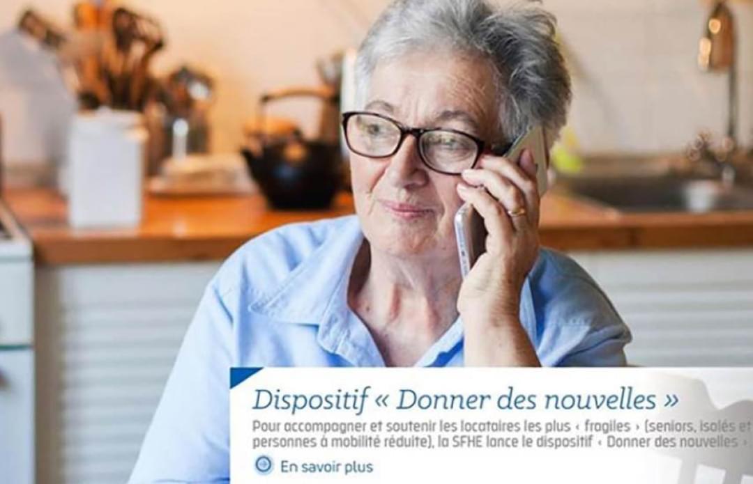 """Dispositif """"Donner des nouvelles"""""""